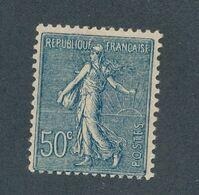 FRANCE -  N°YT 161 NEUF* AVEC CHARNIERE  - 1921/22 - 1903-60 Semeuse Lignée