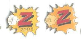 Magasins Z Enfants Lot 2 Pins Dont 200ème - Merken
