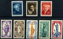 Danzig  Nº 230/37. Año 1937/38 - Unused Stamps