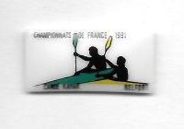 Pin' S  Ville,  Sport  CHAMPIONNAT  DE  FRANCE  1991  De  CANOË  KAYAK  à  BELFORT  ( 90 ) - Canoa