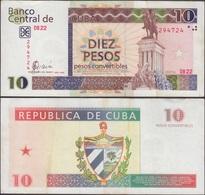 CUBA - 10 Pesos Convertibles 2005 P# FX45 America Note - Edelweiss Coins - Cuba