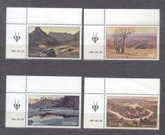 SWA 1981 Landscapes Mi.500-503 MNH A.104 - África Del Sur (1961-...)