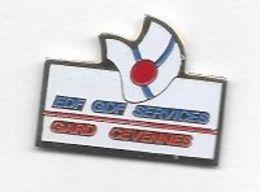 Pin' S  Département, Région, E D F - G D F  SERVICES, GARD  CÉVENNES - EDF GDF