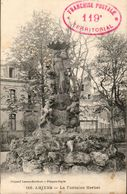 80 SOMME - CP AMIENS - LA FONTAINE HERBET - CACHET FRANCHISE POSTALE 119e TERRITORIAL - L. LAROX PHOTO A AMIENS N° 116 - Amiens