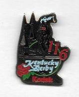 Pin' S  Animal  Cheval, Sport  Hippique  5   Mai  1990  Kentucky  Derby 116  Avec  KODAK - Photographie