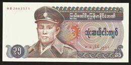 """35 Kyats  """"MYANMAR, Burma, Birmanie""""   UNC   Ro 44 - Myanmar"""