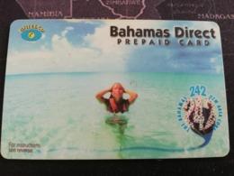 BAHAMAS $-- BAHAMAS DIRECT   LADY IN WATER     BAHAMAS  **2740** - Bahamas