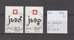 België 1997 - Yv. 2704/05 - OCB 2703/04 Gest./obl./used - Belgium