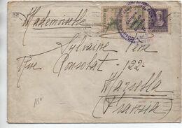 1939 - ENVELOPPE Avec CENSURE / CENSURA MILITAR DE CORREOS De SAN SEBATIAN Pour MARSEILLE - 1931-50 Briefe U. Dokumente