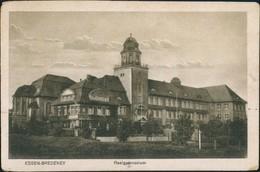 Bredeney-Essen (Ruhr) Realschule-Gymnasium Schule Schulgebäude 1923 - Essen