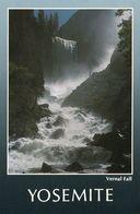 2 AK USA California * Der Vernal Fall - Ein 100 M Langer Wasserfall Am Merced River Im Yosemite National Park - UNESCO - Yosemite