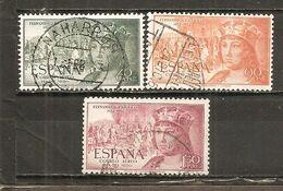 España/Spain-(usado) - Edifil  1111-13 - Yvert Aéreo 257-59 (o) - Poste Aérienne