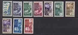 AEF 77/86 OBLITERES - A.E.F. (1936-1958)