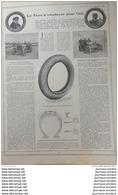 1907 LE PNEU À EMPLOYER POUR L'ÉTÉ - BARAS AU CIRCUIT DE LA SARTHE - RENAUX ( COUPE DU MATIN ) - Books, Magazines, Comics