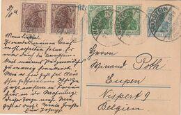 """Deutsches Reich / 1921 / Postkarte """"Germania"""" Stegstempel """"WARSTEIN"""" (CC42) - Deutschland"""