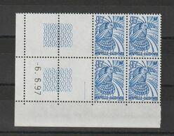 Nouvelle Calédonie 1997 Coin Daté Cagou 737 ** MNH - Nieuw-Caledonië