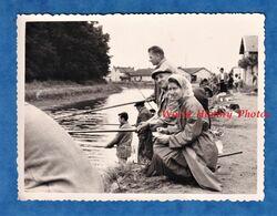 Photo Ancienne Snapshot - VALLON En SULLY - Jour De Pêche - 14 Juillet 1961 - Allier Epineuil Le Fleuriel Nassigny - Deportes