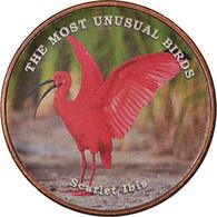 Monnaie, Somaliland, Shilling, 2019, Oiseaux - Scarlet Ibis, SPL, Stainless - Somalië