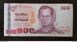 Thailand Banknote 100 Baht Series 15 P#114 SIGN#85 Replacement 1Sพ UNC - Thaïlande