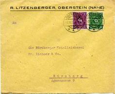(Lo4418) Brief DR St. Oberstein N. Nürnberg - Lettere
