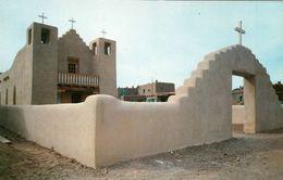 1 AK USA / New Mexico * Kirche In Taos Pueblo - Die älteste, Durchgängig Bewohnte Siedlung In Den USA - 1992 UNESO Erbe - Etats-Unis