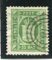 DENMARK 1875 Official 32 Øre, Used.  Michel 7 YA - Dienstpost