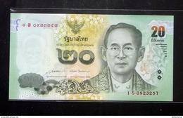 Thailand Banknote 20 Baht Series 16 P#118 SIGN#85 Replacement 1Sพ UNC - Thaïlande
