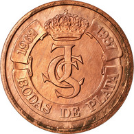 Espagne, Médaille, Ceca De Madrid, Bodas De Plata, 1987, Proof, SPL+, Cuivre - España