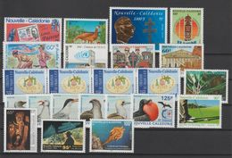 Nouvelle Calédonie Année Complète 1995 Poste 680 à 702 ** MNH - New Caledonia