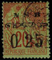 ✔️ Nossi-Bé 1890 - Dubois Avec Surcharge Type II - Yv. 13 (o) - €320 - Usati