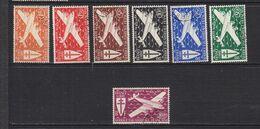 AEF POSTE AERIENNE 22/28  OBLITERES - A.E.F. (1936-1958)