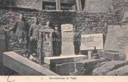 CARTE ALLEMANDE TAILLEURS DE PIERRES TOMBALES 1916  GRENADIER REGIMENT WILHELM I  (9. INFANTERIE DIVISION) - Sonstige Gemeinden