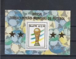 Brasilien Michel Cat.No. Mnh/** Sheet 96 Soccer - Blocs-feuillets