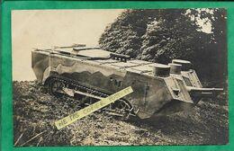 "Carte-photo Char D'assaut ""tank"" Militaria 2scans - Materiaal"