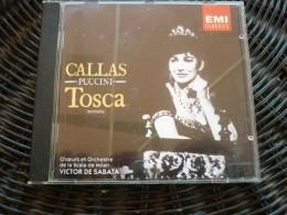 Puccini: Tosca (Maria Callas)/ CD EMI Classics CDM 7 64422-2 - Classique