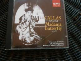 Puccini: Madama Butterfly-Extraits (Maria Callas)/ CD EMI Classics CDM 7 644221-2 - Classique