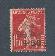 FRANCE -  N°YT 277 NEUF* AVEC CHARNIERE - 1931 - Caisse D'Amortissement