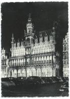 CPSM / BRUXELLES ILLUMINATION MAISON DU ROI / 1955 - Bruxelles By Night