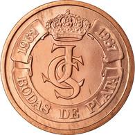 Espagne, Médaille, Ceca De Madrid, Bodas De Plata, 1987, Proof, SPL, Cuivre - España