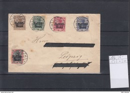 Deutsches Reich Michel Kat.Nr. Russisch Polen 1/6 Satzbrief - Besetzungen 1914-18