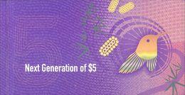 Australia - 5 Dollars 2016 Polymer Booklet (series EC ) UNC. - Emissions Gouvernementales Décimales 1966-...