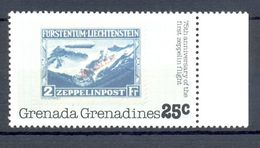 Neuf - Grenade Grenadines - 1978 Y&T GR 236 Michel GR 269 - 75th Anniversary Of The First Zeppelin Flight - Grenada (1974-...)