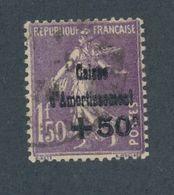 FRANCE -  N°YT 268 OBLITERE - 1930 - Caisse D'Amortissement