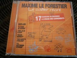Maxime Le Forestier: Le Cahier Récré, 17 Chansons De Brassens/ CD Polydor - Music & Instruments