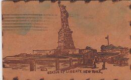 Statue Of Liberty , New York City , 1906 ; Leather - Statue De La Liberté