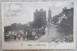 CPA - THUIN - Vieille Rampe - Thuin