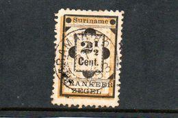 SURINAME 1892 O - Surinam ... - 1975