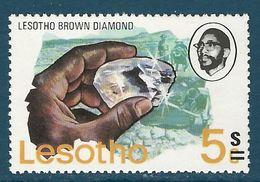 Lesotho - 1980 Minerals, Overprint MNH** - Lot. 4987 - Minéraux