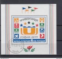 Bulgarien Michel Cat.No. Used Sheet 72 - Blocks & Sheetlets