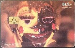 Telefonkarte Bolivien - Werbung  - Mascara De Pepino - BS. 5 - Bolivien